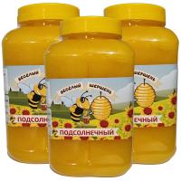Подсолнечный мед 3 L