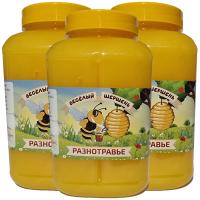 Цветочный мед 3 L